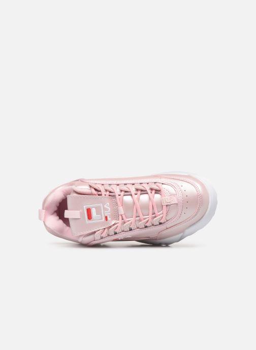 Sneakers FILA Disruptor M Low W Pink se fra venstre