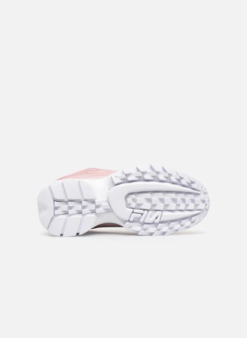 Trainers FILA Disruptor M Low W Pink view from above