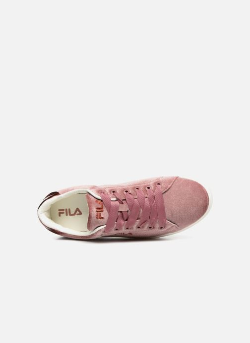 Baskets FILA Upstage V Low W Rose vue gauche