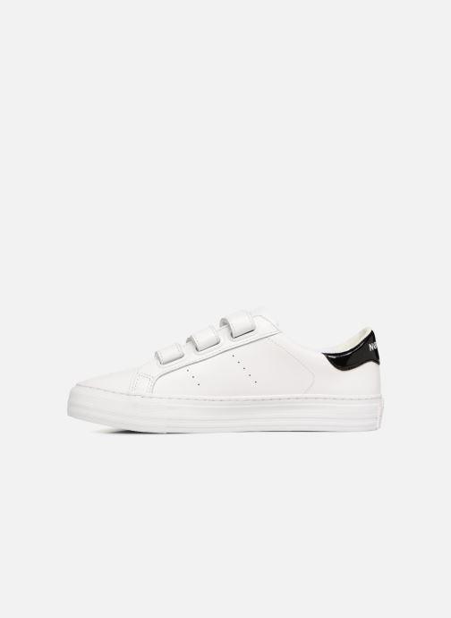 Sneakers No Name Arcade Straps Nappa Bianco immagine frontale