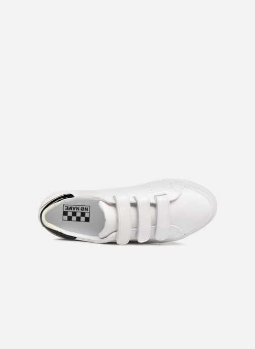 Sneakers No Name Arcade Straps Nappa Bianco immagine sinistra