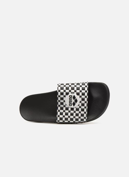 Sport shoes Arena Therese Slide Black view from the left