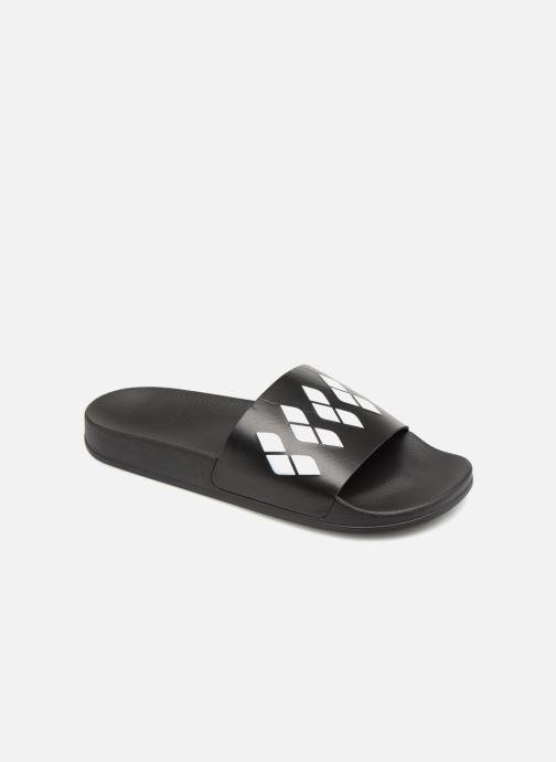 Chaussures de sport Arena Team Stripe Slide Noir vue détail/paire
