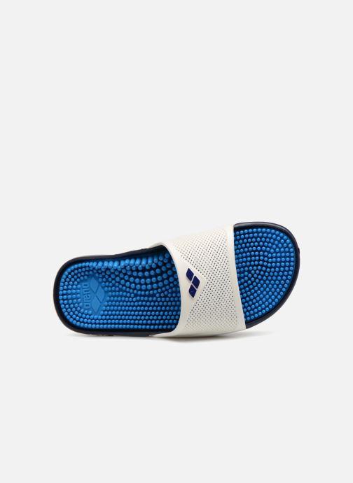 Chaussures de sport Arena Marco X Grip Box + Hook W Blanc vue gauche