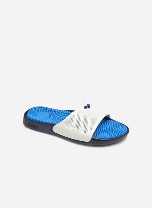 Chaussures de sport Arena Marco X Grip Box + Hook W Blanc vue détail/paire
