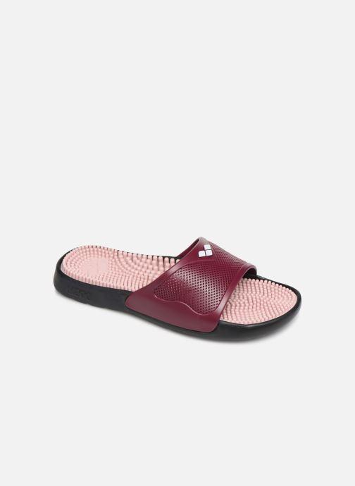 Chaussures de sport Arena Marco X Grip Box + Hook W Bordeaux vue détail/paire