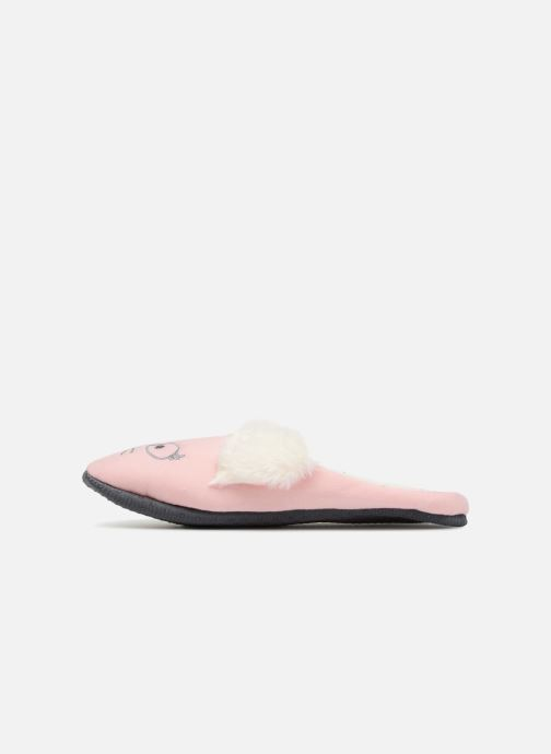 Pantoffels Sarenza Wear Chaussons Femme Fantaisie Roze voorkant
