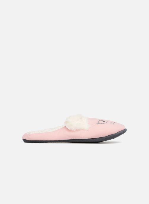 Pantoffels Sarenza Wear Chaussons Femme Fantaisie Roze achterkant