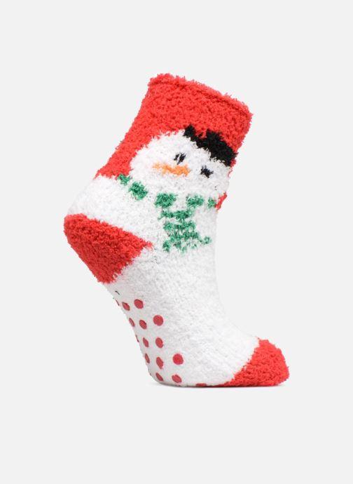 Chaussettes et collants Sarenza Wear Chaussons Chaussettes Enfant Noël Rouge  vue détail paire 9960f0163b01