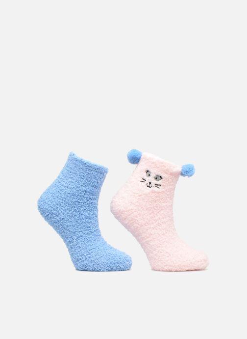 Socken & Strumpfhosen Sarenza Wear Chaussons Chausettes Fille Mignons Lot de 2 mehrfarbig detaillierte ansicht/modell