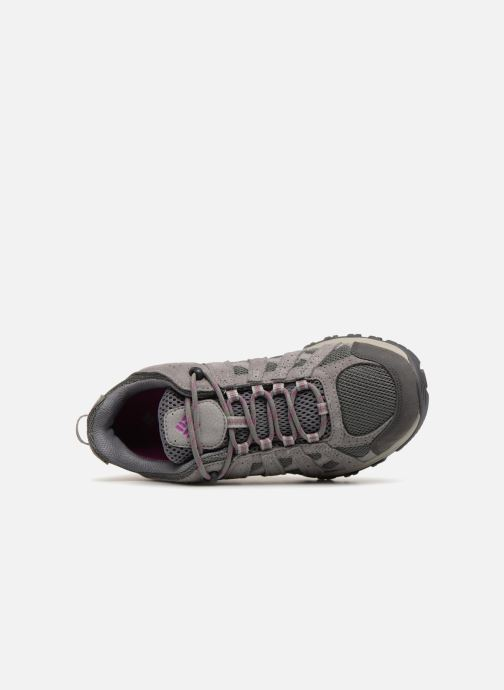 Sportschoenen Columbia Canyon Point Waterproof W Grijs links