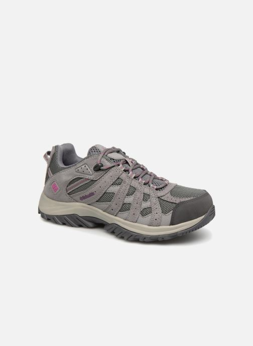 Sportschoenen Columbia Canyon Point Waterproof W Grijs detail