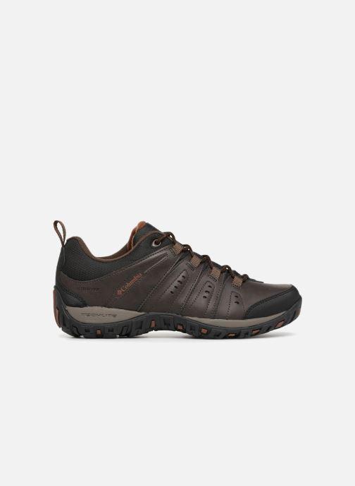 Chaussures de sport Columbia Woodburn II Waterproof Marron vue derrière