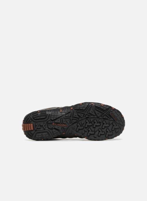 Chaussures de sport Columbia Woodburn II Waterproof Marron vue haut