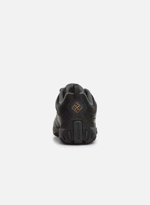 Chaussures de sport Columbia Woodburn II Waterproof Noir vue droite
