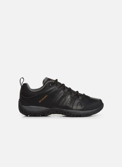 Chaussures de sport Columbia Woodburn II Waterproof Noir vue derrière