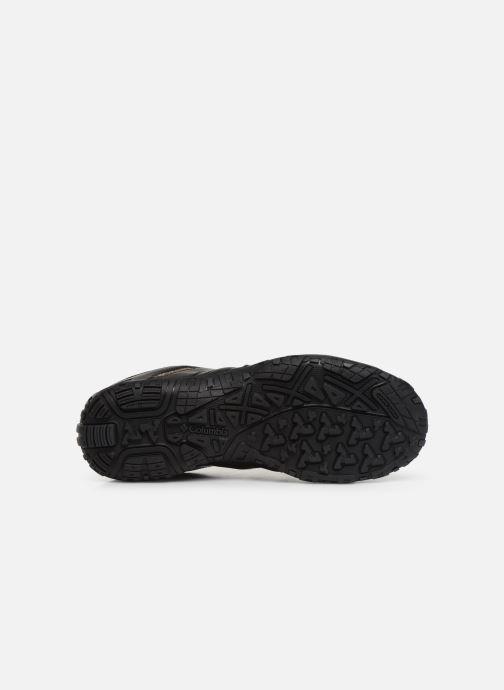 Chaussures de sport Columbia Woodburn II Waterproof Noir vue haut