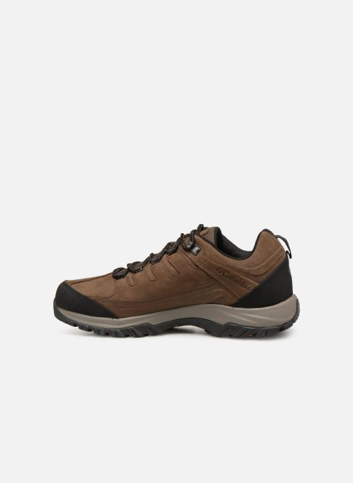 Chaussures de sport Columbia Terrebonne II Outdry Marron vue face