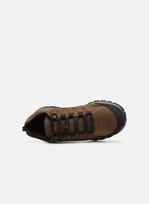 Sport shoes Columbia Terrebonne II Outdry Brown view from the left