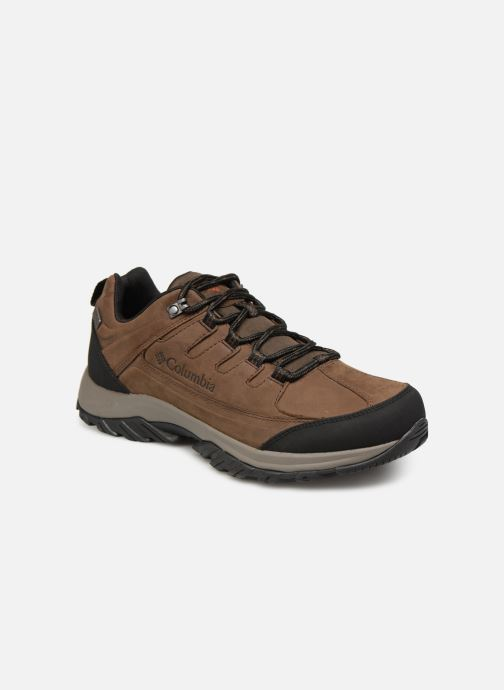 Sport shoes Columbia Terrebonne II Outdry Brown detailed view/ Pair view