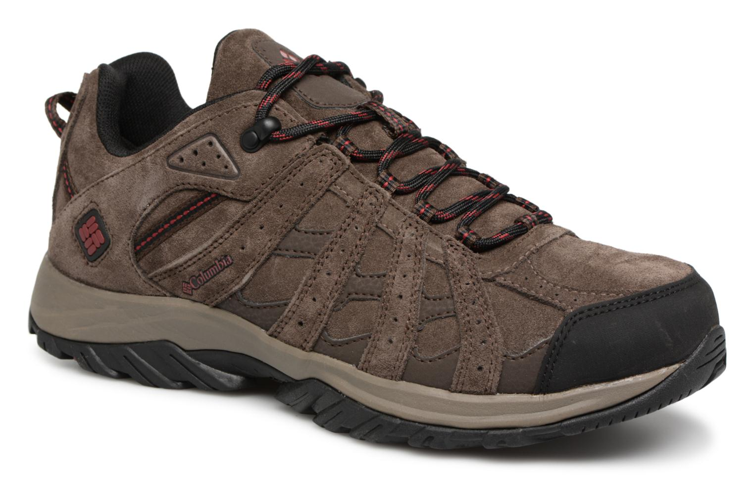 Columbia Canyon Point Leather Omni-Tech (Marron) - Chaussures de sport en Más cómodo Nouvelles chaussures pour hommes et femmes, remise limitée dans le temps
