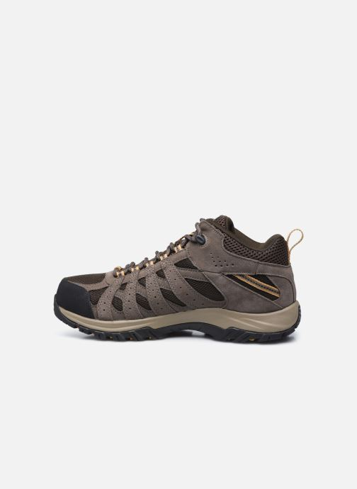 Chaussures de sport Columbia Canyon Point Mid Waterproof Marron vue face