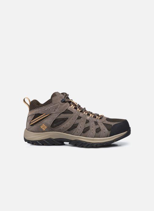 Chaussures de sport Columbia Canyon Point Mid Waterproof Marron vue derrière