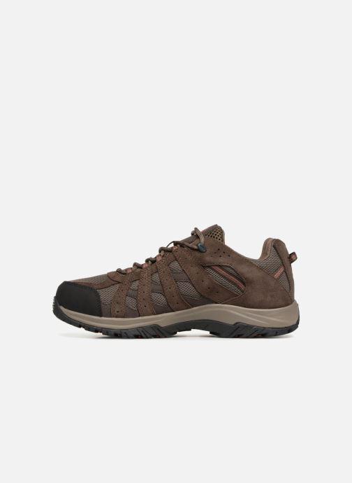 Chaussures de sport Columbia Canyon Point Waterproof Marron vue face