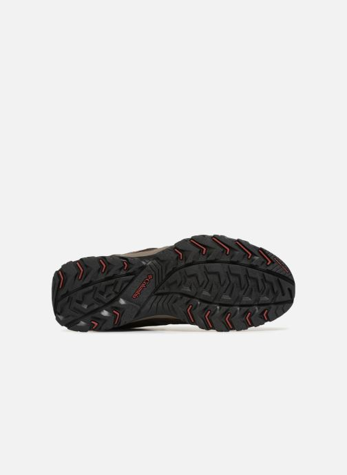 Chaussures de sport Columbia Canyon Point Waterproof Marron vue haut