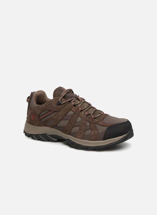 Chaussures de sport Columbia Canyon Point Waterproof Marron vue détail/paire
