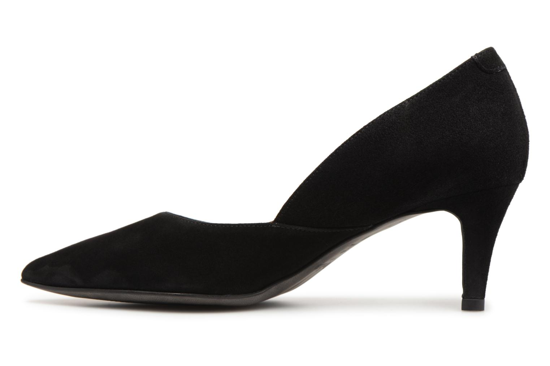 High heels Perlato 10908 Black front view