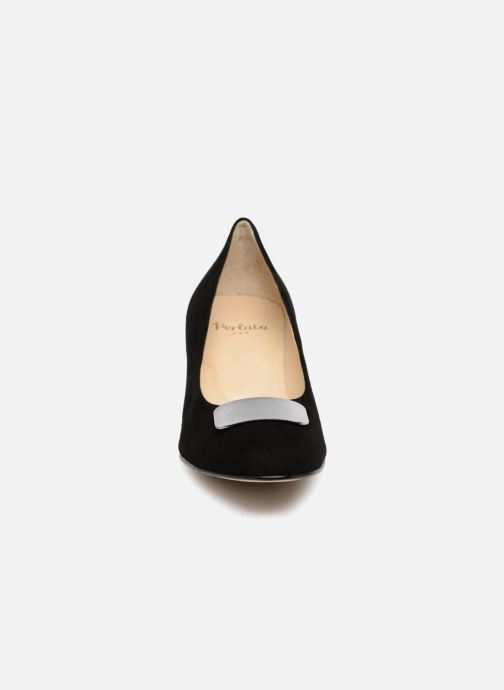 High heels Perlato 10917 Black model view