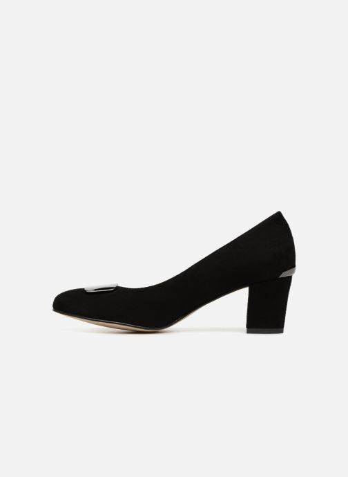 High heels Perlato 10917 Black front view