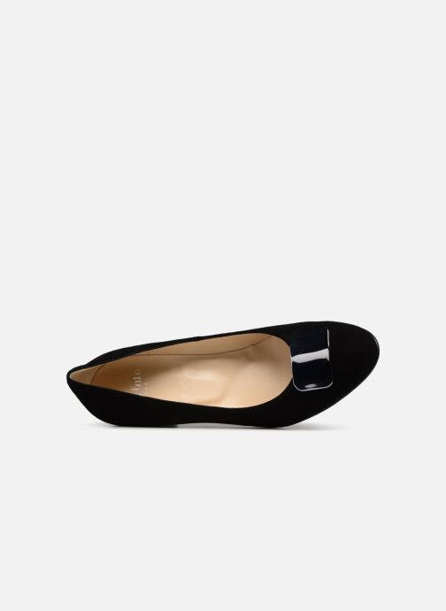High heels Perlato 10917 Black view from the left