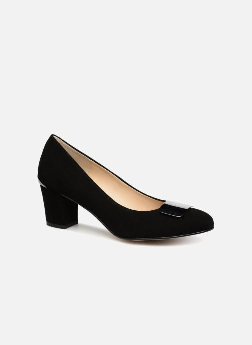High heels Perlato 10917 Black detailed view/ Pair view