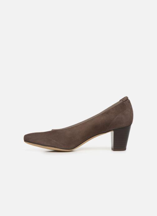 Zapatos de tacón Perlato 10362 Marrón vista de frente