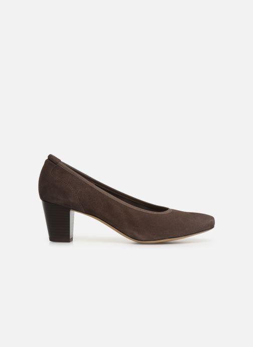Zapatos de tacón Perlato 10362 Marrón vistra trasera