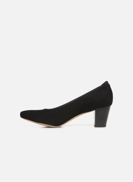 Zapatos de tacón Perlato 10362 Negro vista de frente