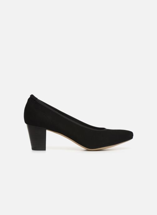Zapatos de tacón Perlato 10362 Negro vistra trasera