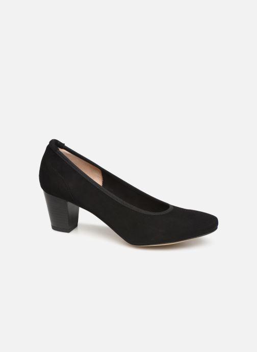 Høje hæle Perlato 10362 Sort detaljeret billede af skoene