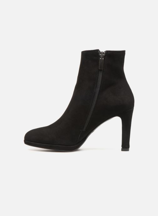 Ankle boots Perlato 10904 Black front view