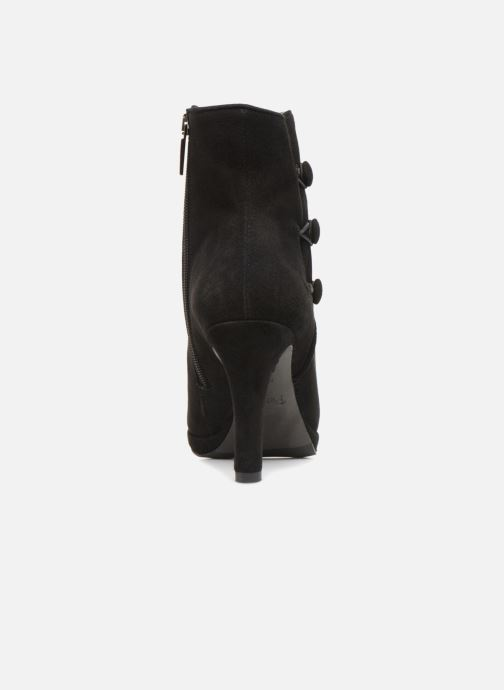 Ankle boots Perlato 10904 Black view from the right