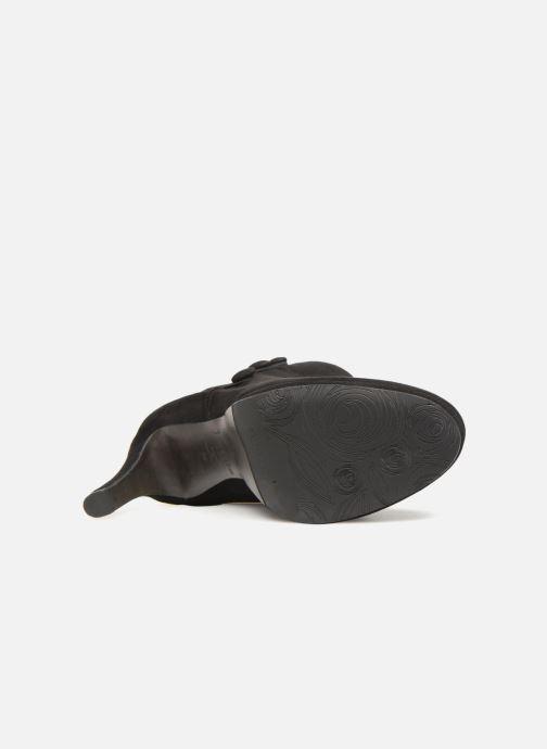 Botines  Perlato 10904 Negro vista de arriba