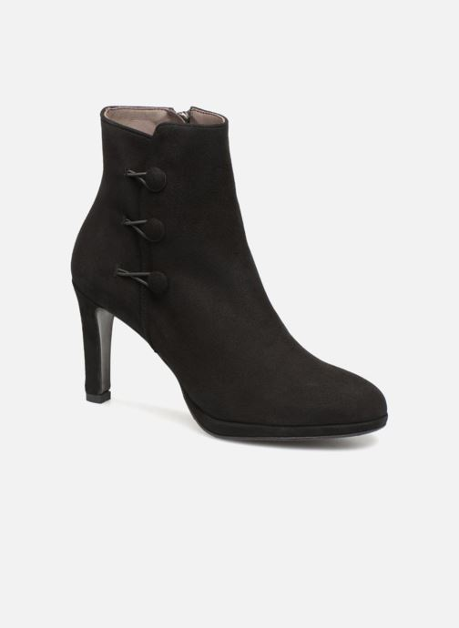 Ankle boots Perlato 10904 Black detailed view/ Pair view