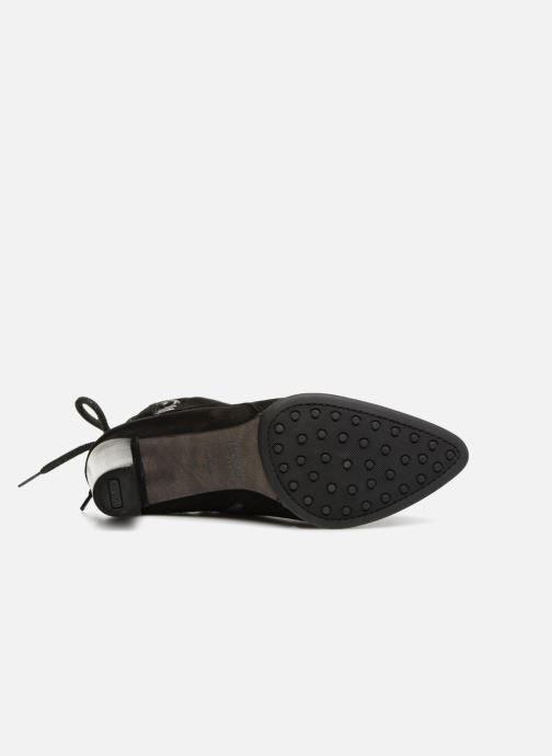 Stiefeletten & Boots Perlato 10828 schwarz ansicht von oben