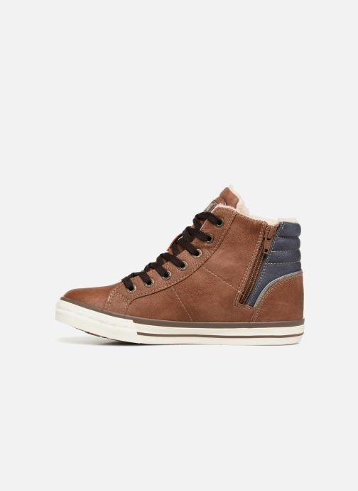 Baskets Mustang shoes Claudio Fourré Marron vue face