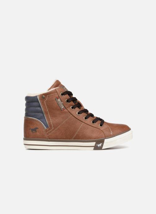 Baskets Mustang shoes Claudio Fourré Marron vue derrière