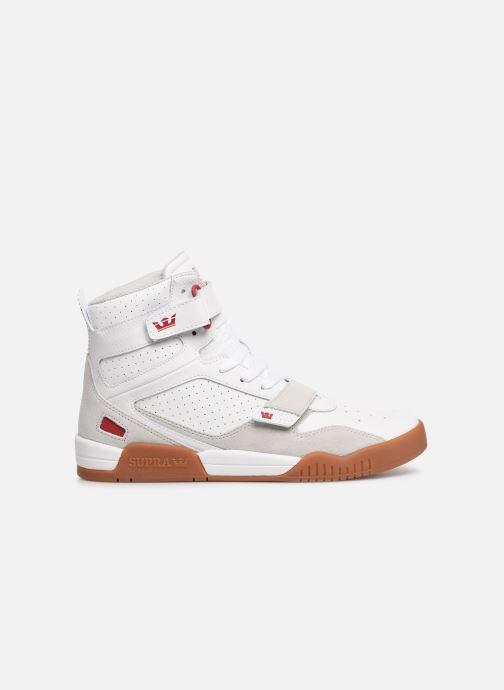 Baskets Supra Breaker Blanc vue derrière