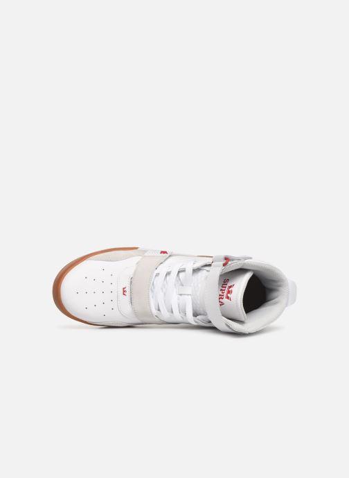 Baskets Supra Breaker Blanc vue gauche