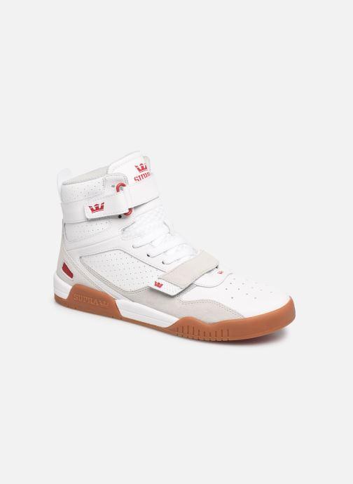 Baskets Supra Breaker Blanc vue détail/paire